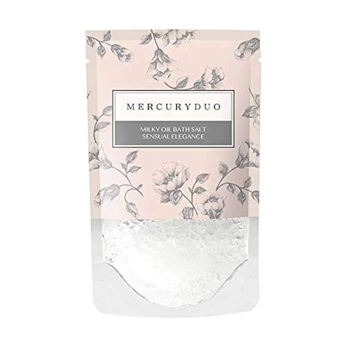 陽気な自発反対するMERCURYDUO マーキュリーデュオ オイル in フレグランス バスソルト 12個入 [ 浸かる乳液 ] しっとり 保湿 発汗 入浴剤 1包 45g