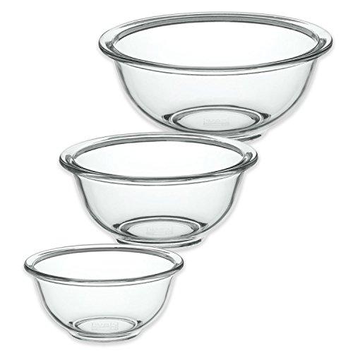 iwaki イワキ 耐熱ガラス ベーシック ボウル 3種セット 大中小 1500ml・900ml・500ml KSKC-BO-3 3個セット