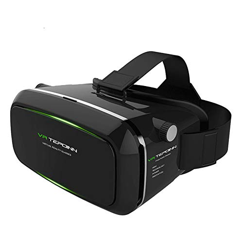 Tepoinn VR ゴーグル 3D VRメガネ iPhone7/7/Plus/8/SONY/Samsung AndroidとAndroid 4.7-6.0インチスマホ対...