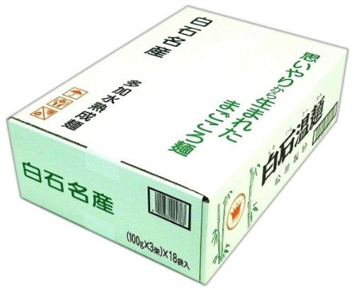 クラウン 白石温麺 300X18