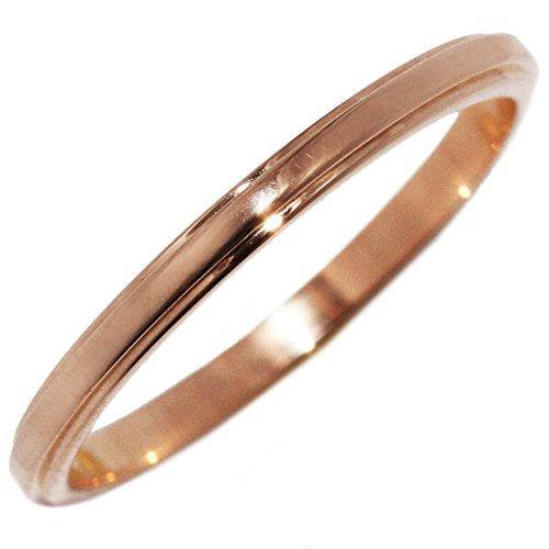 [カルティエ]Cartier K18PG ダムールリング 指輪(リング)(B40938) #48(8号) [中古]