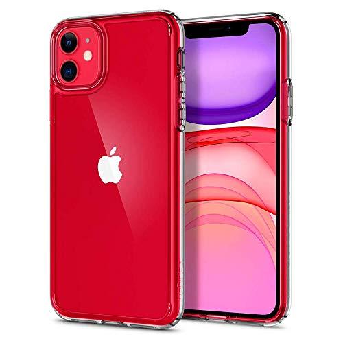 【Spigen】 iPhone 11 ケース 6.1インチ 対応 全面 クリ...