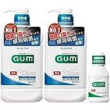 (医薬部外品) GUM(ガム) デンタルリンス ノンアルコールタイプ 薬用液体ハミガキ 960mL 2個パック+おまけ付き【Amazon.co.jp限定】