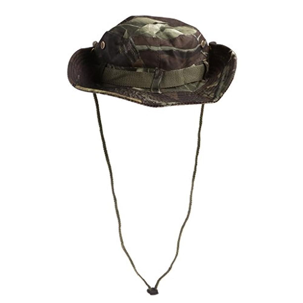 舌なれんが精算メンズ ハンティング ハイキング フィッシング バケツ キャップ 釣り帽子 カモ