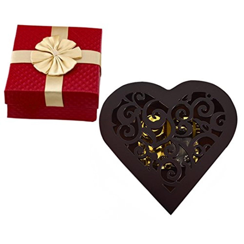 ハート型Clockwork音楽ボックス木製音楽ボックスの誕生日プレゼントTuneはCastle in the Sky Onesize ゴールド SLZL-yyh01783-01