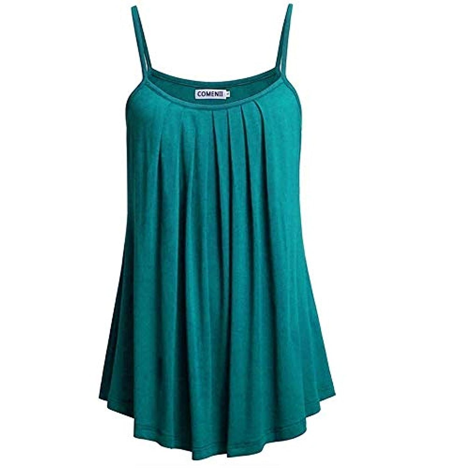 反抗硫黄耐えられるMIFAN ノースリーブトップス、タンクトップ、プラスサイズトップ、サマートップス、女性ブラウス、カジュアルシャツ、トップス&Tシャツ