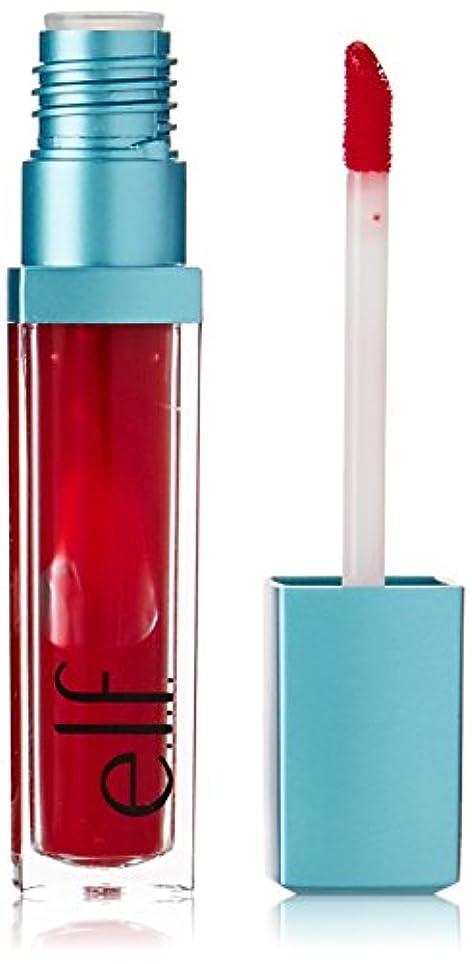暗唱するガチョウ接続詞e.l.f. Aqua Beauty Radiant Gel Lip Stain - Rouge Radiance (並行輸入品)