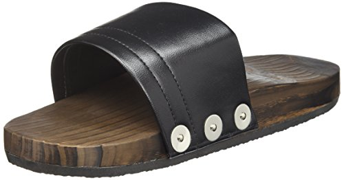 三和 防滑サンダル ブラック L SSK-3830