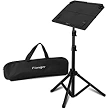 ANMAS RUCCI Black Collapsible Music Stand with Carrying Bag