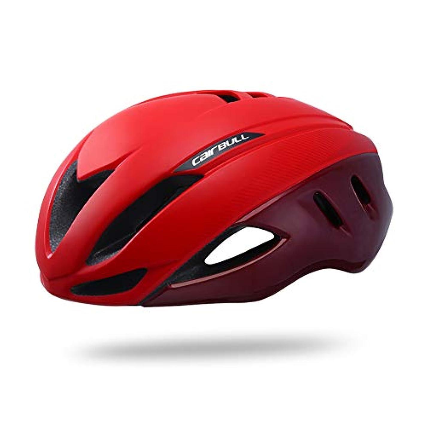 二週間余計なシネマSpeedaeroバイクヘルメット、エアロダイナミクス安全ttサイクリングヘルメット用自転車男性女性スポーツレーシングロードバイクヘルメット