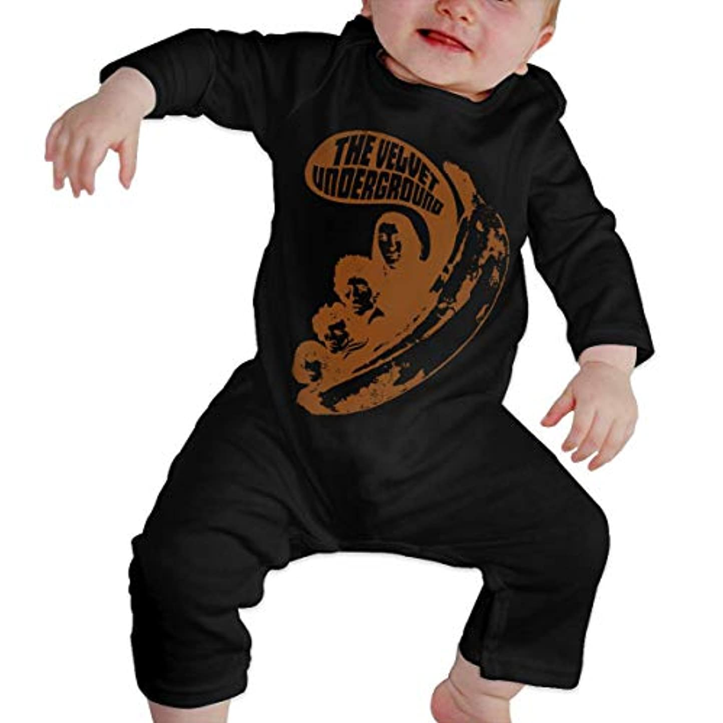 地下鉄世代幸運Baby's、Kid's、Infant Utility、Cotton ジャンプスーツ、ロンパース、衣類、ボディスーツユニセックスベビークローラーブラック 2T