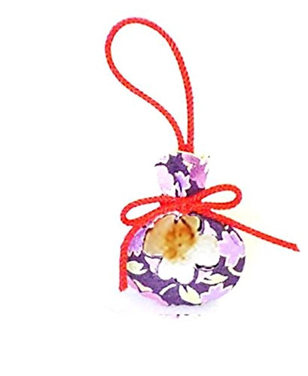 神秘バトル樫の木宇治京扇堂 雅(みやび)な香り 京友禅 巾着匂い袋 (No.6)