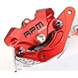 RPM Brand CNC Motorcycle Small Crab Brake Calipers With Brake Pads + 220mm Brake Disc Brake Pump Adapter Bracket Kit Universal For Honda MSX125 Features: 1. 100% New RPM Brand CNC Aluminum Motorcycle Brake Calipers + 220mm Brake Disc Brake Pump Adapter Bracket Sets 2. Size:Approx 10.2cm X 6.6cm X 3.7cm 3. Material: 100% High Quality CNC Aluminum 4. Suitable Models:Universal For Most 220mm Brake Disc Honda MSX125 5. Brake Calipers Installation Center Hole Distance:8.2cm 6. Brake Calipers Adapter