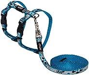 Rogz Reflectocat Harness & Lead Set Blue