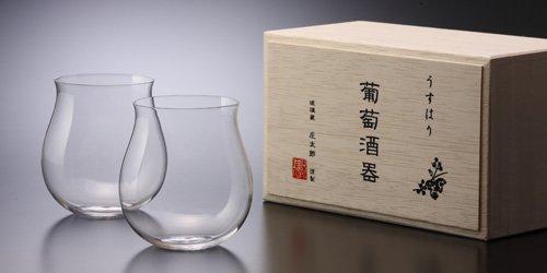 うすはり 葡萄酒器 ブルゴーニュ/ 松徳硝子