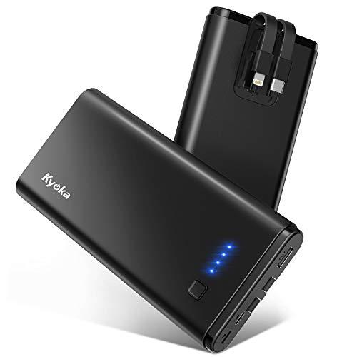 モバイルバッテリー 20800mAh 大容量 lightning&Type-...