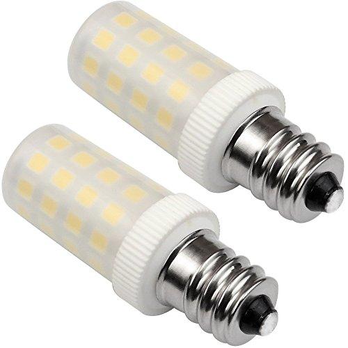 Kakanuo LED電球 E12口金 40W形相当 電球色(5W) 非調光 AC110V-130V...