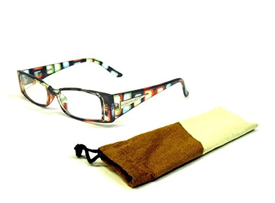 (オールディズ) OLDEIS おしゃれ 老眼鏡 ケース付き 非球面レンズ シニアグラス モダン調 310c11+3.00