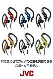 JVC HA-EB75-R イヤホン 耳掛け式 防滴仕様 スポーツ用 レッド 画像