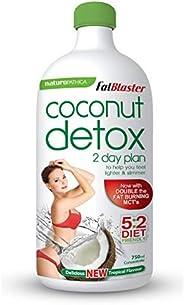 Naturopathica FatBlaster 2 Day Coconut Detox, 750 milliliters