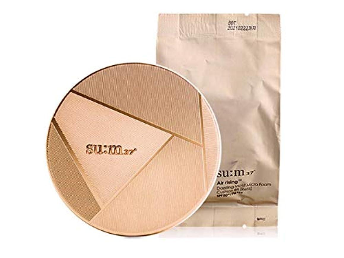 間コンサート明示的にsu:m37/スム37° スム37 ARTF ダズリングモイストマイクロフォームクッション (sum 37ºAir risingTF Dazzling Cushion Foundation 15g + Special Gift) スポット [海外直送品] (01号)