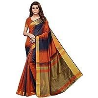 CRAFTSTRIBE Stylish Bollywood Saree India Pakistani Ethnic Wear Wedding Art Silk Sari