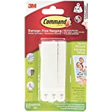 Command Narrow Picture Hanging Strips, White, 4-Pairs (17207-ES)