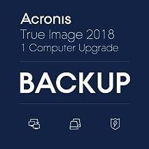 Acronis True Image 2018 1 Computer – Version Upgrade|オンラインコード版