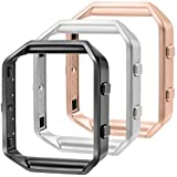 bayite Replacement Accessory Stainless Steel Frame for Fitbit Blaze Smart Watch