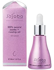 the Jojoba Company 100% Natural Australian Jojoba Oil + Rosehip Oil ホホバ&ローズヒップブレンドオイル 30ml [海外直送品]