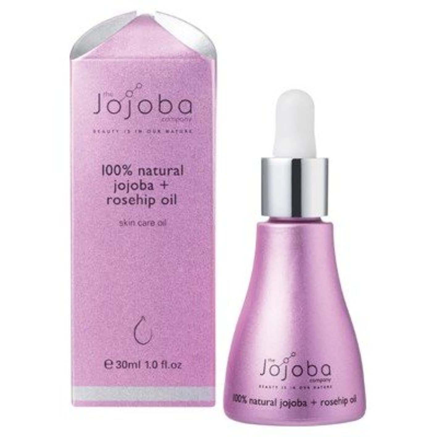 エンドウ連続したクレアthe Jojoba Company 100% Natural Australian Jojoba Oil + Rosehip Oil ホホバ&ローズヒップブレンドオイル 30ml [海外直送品]