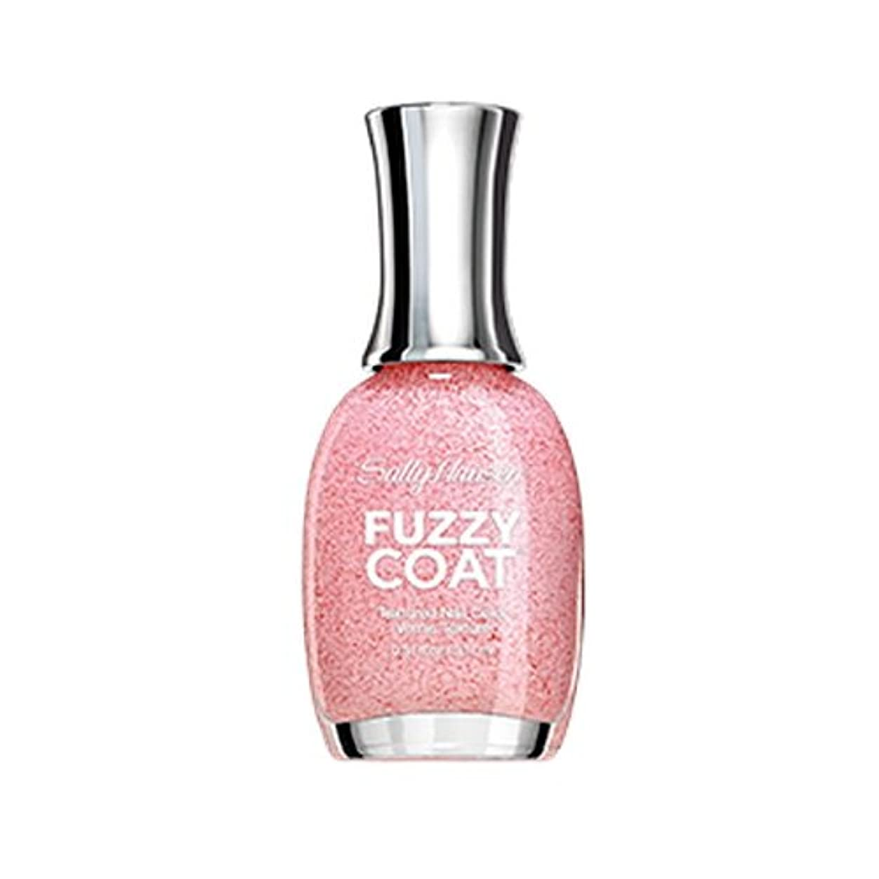 通知する控えめな置くためにパック(6 Pack) SALLY HANSEN Fuzzy Coat Special Effect Textured Nail Color - Wool Lite (並行輸入品)