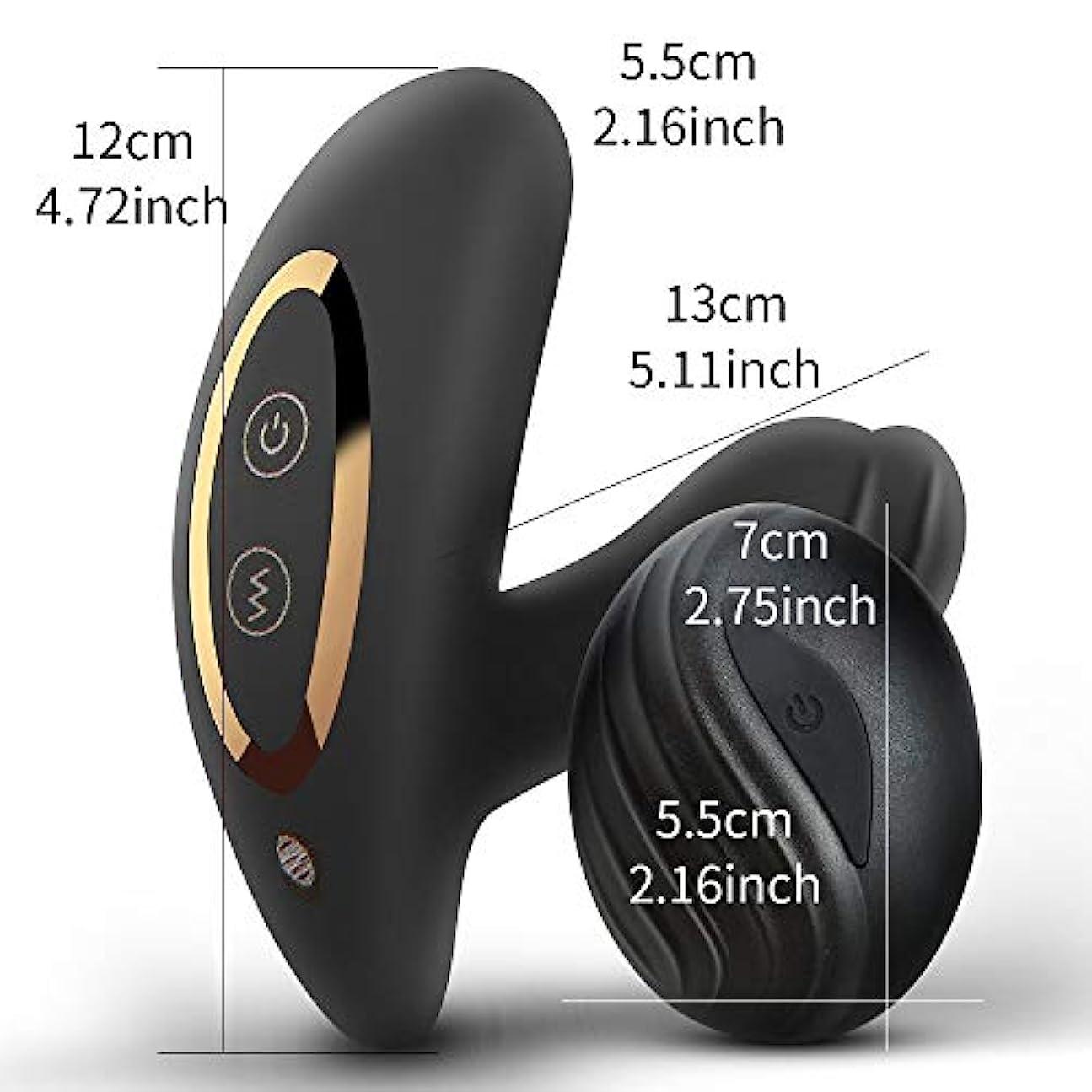 地平線にんじんうるさいXpHealth 充電式マッサージ用リラクゼーションマッサージ装置玩具男性初心者メッセージメッセンジャー振動速度とパターン振動ワイヤレスワイヤレスリモコン付き