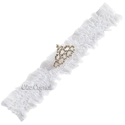 Chic Crystals ACCESSORY ベビー・ガールズ US サイズ: 0 - 3 Months カラー: ホワイト