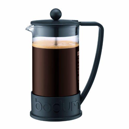 BODUM ボダム BRAZIL フレンチプレスコーヒーメーカー 1.0L ブラック 10938-01