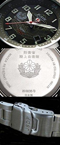 [ケンテックス]Kentex 腕時計 JSDF STANDARD ソーラー 陸上自衛隊モデル ミリタリー S715M-04 メンズ