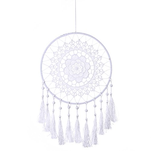 Chinatera Lace Flower Dream Catcher Wall Hanging Home Car Decor Craft