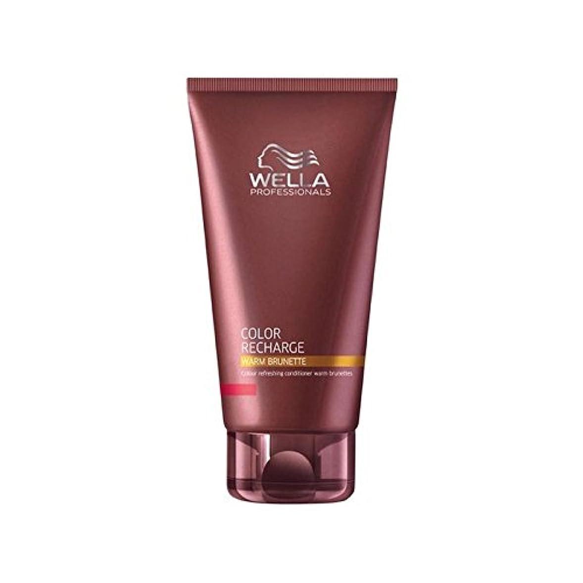 ファントム戻すあらゆる種類のウエラ専門家のカラー再充電コンディショナー暖かいブルネット(200ミリリットル) x2 - Wella Professionals Color Recharge Conditioner Warm Brunette (200ml...
