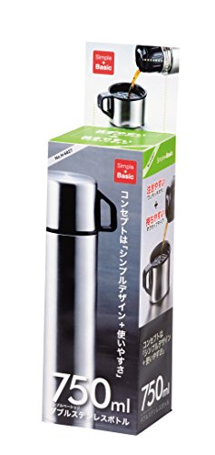 パール金属 スタイルベーシック ダブルステンレスボトル750 H-6827
