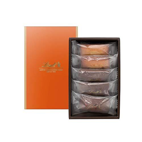 リンツ (Lindt) チョコレート 焼き菓子ギフト [ フィナンシェ 5個/4種 ] 個包装 ギフトセット ショッピングバッグS付