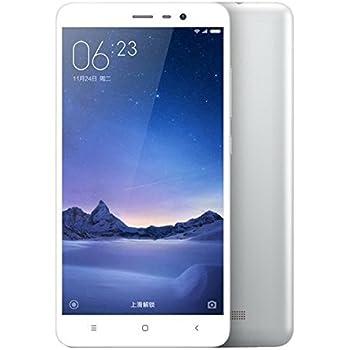 XIAOMI Redmi Note 3 Pro 5.5 inch 4G Phablet Android 5.1 Quadcomm Snapdragon 650 64bit Hexa Core 1.8GHz Fingerprint ID 3GB RAM 32GB ROM 16.0MP + 5.0MP Camera シルバー [並行輸入品]