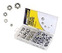 Maxcraft 7692 Nylon Insert Lock Nut Assortment, 150-Piece [並行輸入品]