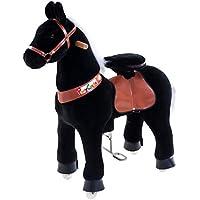 Vroom Rider X Ponycycle 常用玩具 馬 3歳~5歳向け スモール (ブラック)