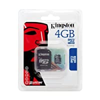4GB microSD memory for HTC myTouch 3G Phone by Kingston