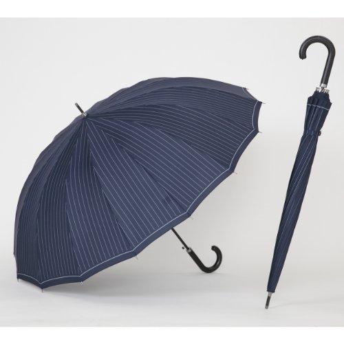 [해외]16 개의 뼈 점프 우산 65cm 스트라이프 남성 남성 직경 110cm 우산 LIEBEN-0191/16 books bone jump umbrella 65 cm stripe men`s men`s diameter 110 cm umbrella LIEBEN-0191