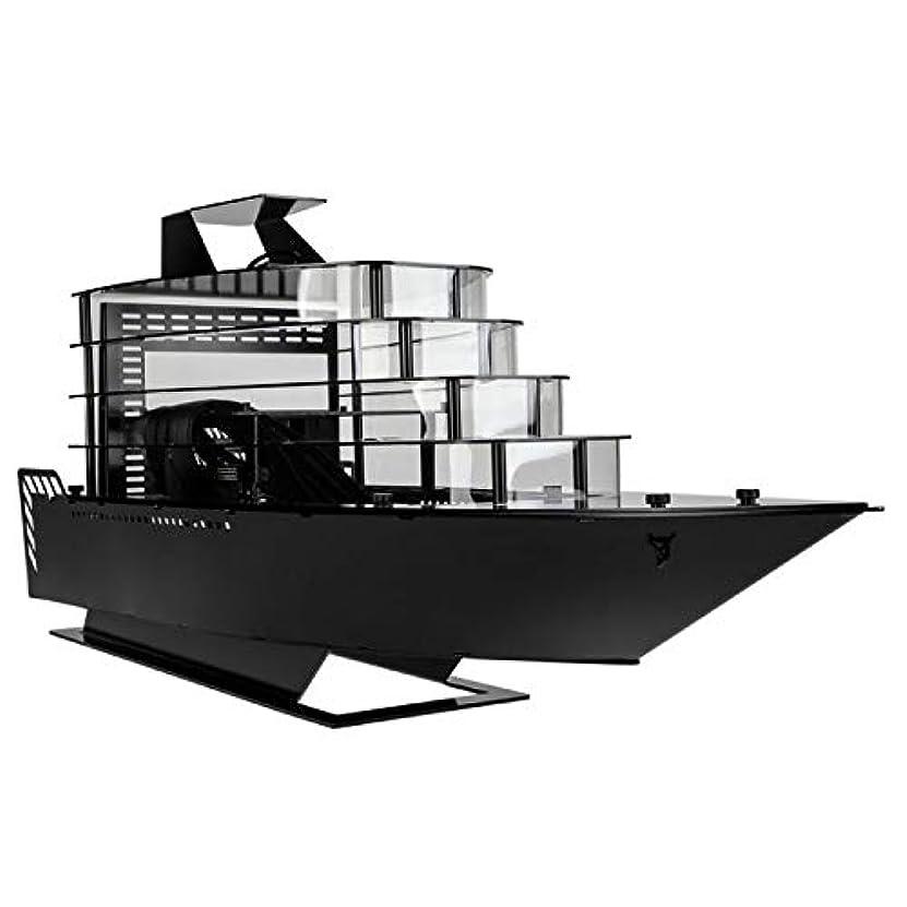 防腐剤ダニタイプLian-Li PC-Y6BオデッセイヨットMini-ITXケース - コンピューターケース - ブラック