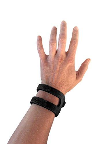 WristWidget <全米で大人気> 手首サポーター リストラップ 調整可能なリストバンド TFCC 腕の痛み 軽減 男女兼用 手首保護に怪我防止 野球/テニス/剣道/ゴルフ/ボーリング【日本正規品】