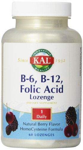 ビタミンB6、B12&葉酸トローチ(ホモシステインバスター)[海外直送品]
