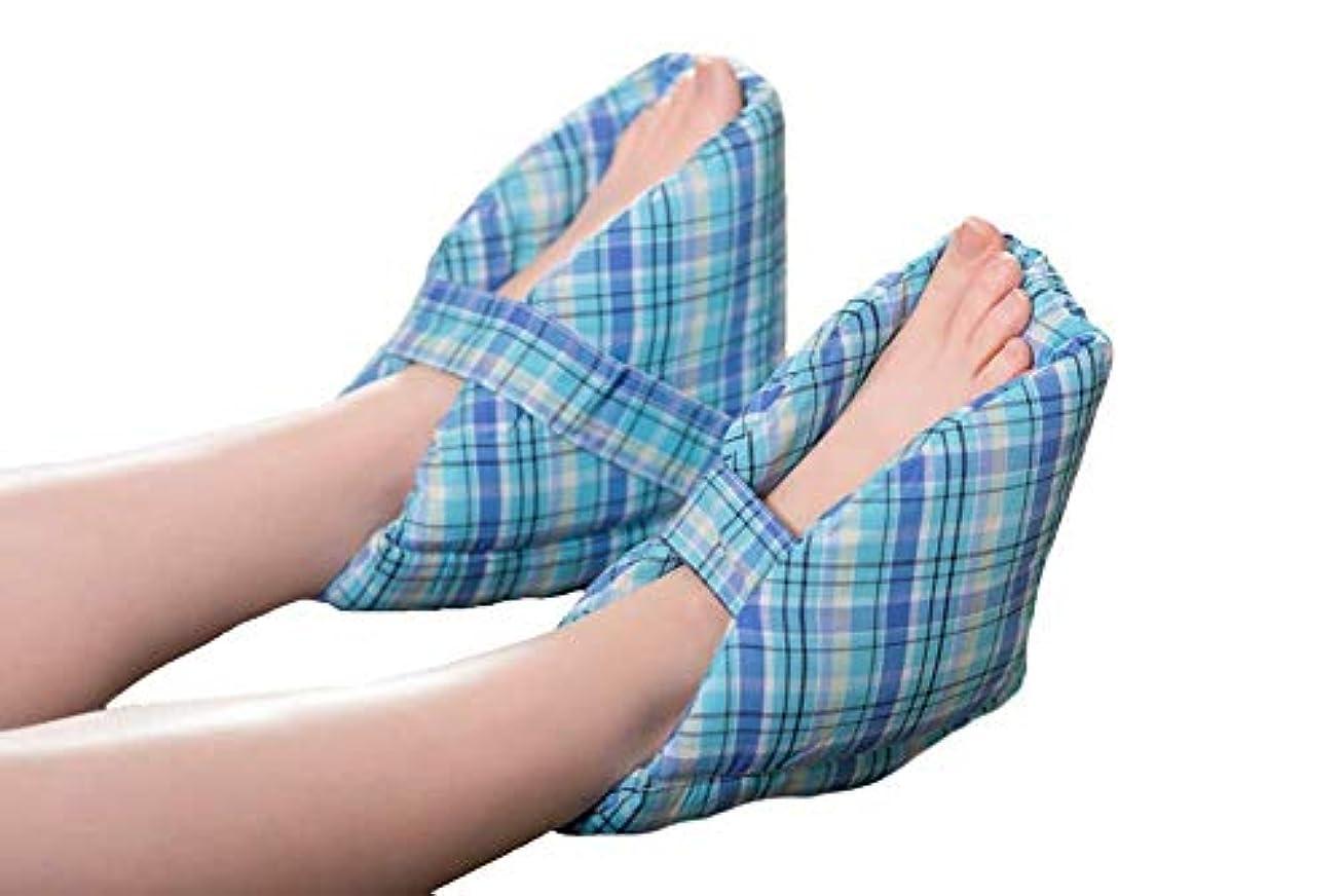 大声で正確ラベ足の枕、かかとの保護、かかとのクッション、有効な褥瘡とかかとの潰瘍の軽減、腫れた足に最適