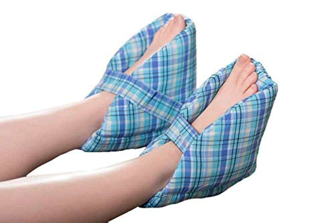 クローゼット暴動悩み足の枕、かかとの保護、かかとのクッション、有効な褥瘡とかかとの潰瘍の軽減、腫れた足に最適